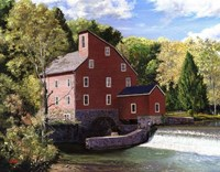 Red Mill Fine-Art Print