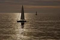 Sailboats Copper Fine-Art Print