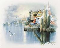 Fishing Dock B Fine-Art Print