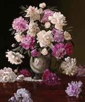 Peonies in a Japanese Vase Fine-Art Print