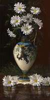 Daisies in Royal Worchester Fine-Art Print