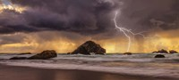 Storm At Face Rock1 Fine-Art Print