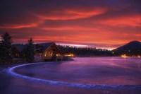Everygreen Lake Sunrise Fine-Art Print