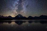 Jackson Lake Milky Way Fine-Art Print
