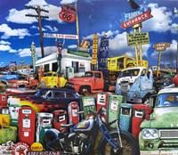 El Paso Truck Salvage Fine-Art Print