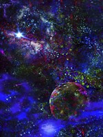 Orphan Planet, Distant Star Fine-Art Print