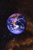 Bright Blue Earth Fine-Art Print