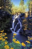 Rocky Waterfall Fine-Art Print