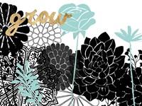 Lacy Garden I Fine-Art Print