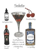 Classic Cocktail - Manhattan Fine-Art Print