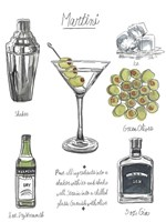 Classic Cocktail - Martini Fine-Art Print