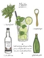 Classic Cocktail - Mojito Fine-Art Print