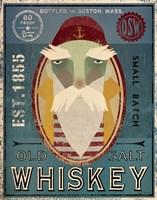 Fisherman VIII Old Salt Whiskey Fine-Art Print