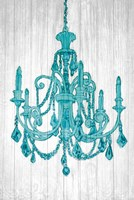 Luxurious Lights III Turquoise Fine-Art Print