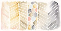 Watercolor Chevron Fine-Art Print