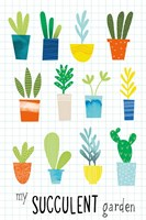 My Succulent Garden Fine-Art Print