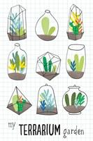 My Terrarium Garden Fine-Art Print