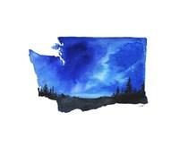 Washington State Watercolor Fine-Art Print