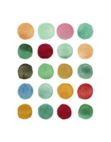 Series Colored Dots No. I Fine-Art Print