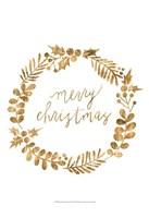 Golden Christmas III Fine-Art Print
