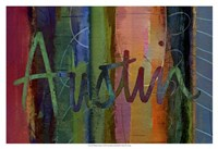 Abstract Austin Fine-Art Print