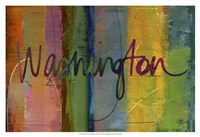 Abstract Washington Fine-Art Print