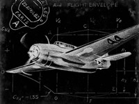 Flight Schematic II Fine-Art Print