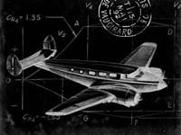 Flight Schematic IV Fine-Art Print