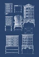 Furniture Blueprint II Fine-Art Print