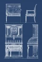 Furniture Blueprint III Fine-Art Print