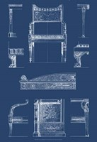 Furniture Blueprint IV Fine-Art Print