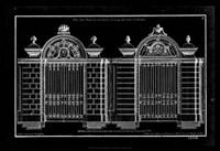 Neufforge Gate Blueprint I Fine-Art Print