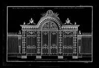 Neufforge Gate Blueprint III Fine-Art Print