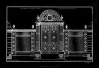 Neufforge Gate Blueprint IV Fine-Art Print