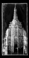 Empire State Blueprint Fine-Art Print