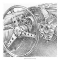 Behind the Wheel II Fine-Art Print