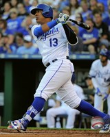 Salvador Perez 2016 Action Fine-Art Print