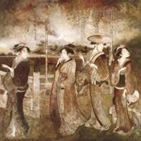Eastern Gathering Fine-Art Print