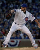 Jon Lester 2016 Action Fine-Art Print