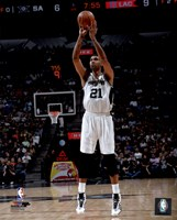 Tim Duncan 2015-16 Action Fine-Art Print