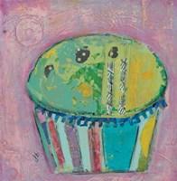 Cupcake II  (green icing) Fine-Art Print