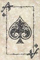 Ace of Spades Fine-Art Print