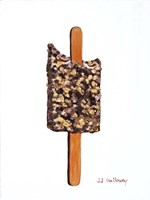 Chocolate Eclair Ice Cream Bar Fine-Art Print