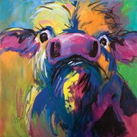 Colorful Cow Fine-Art Print