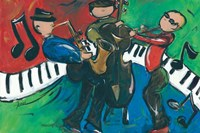 Jazz Ensemble Fine-Art Print