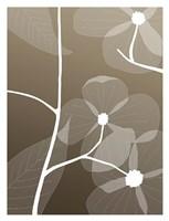 Floral Silhouette 1 Fine-Art Print