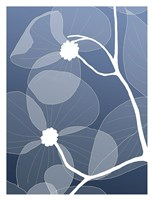 Floral Silhouette 2 Fine-Art Print