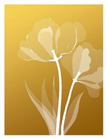 Floral Silhouette 6 Fine-Art Print