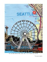 Seattle Great Wheel Fine-Art Print
