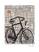 Bicycle on Hawthorne Portland Fine-Art Print